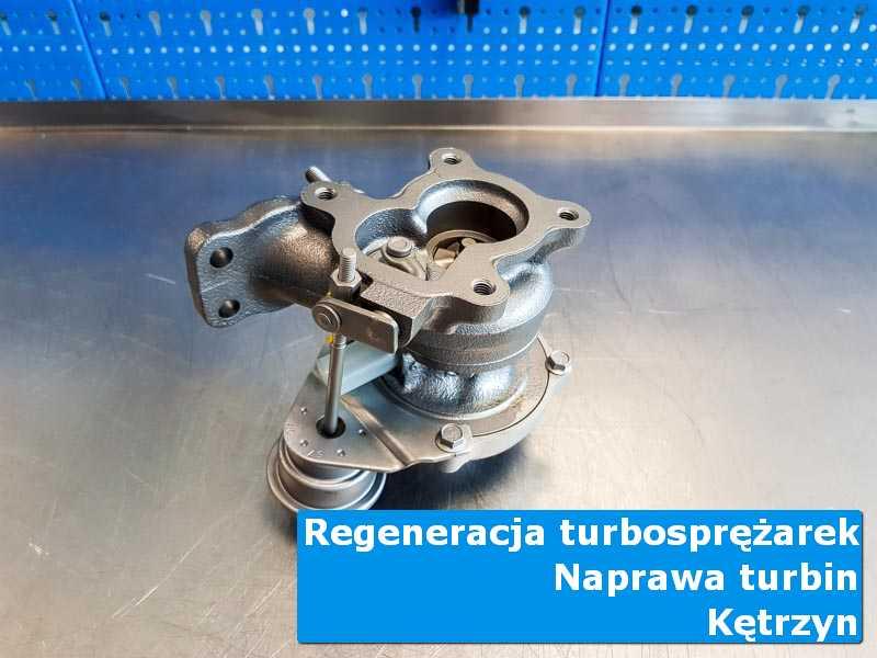 Turbosprężarka po serwisie w nowoczesnej pracowni z Kętrzyna