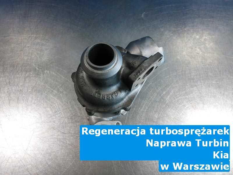 Turbosprężarki z pojazdu marki Kia do wymiany w Warszawie