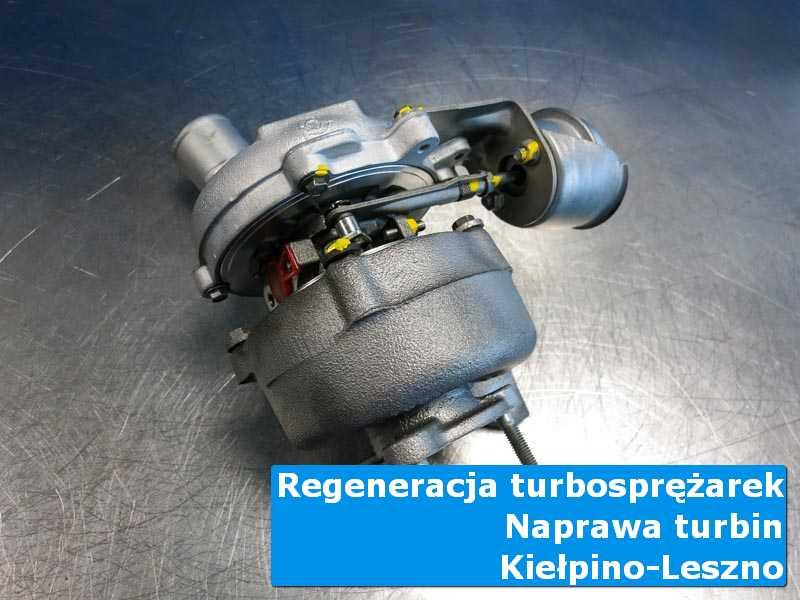 Turbosprężarka po wizycie w ASO w laboratorium z Kiełpina-Leszna