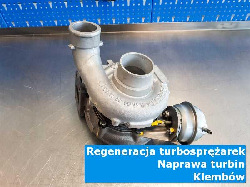 Turbosprężarka po regeneracji w autoryzowanej pracowni z Klembowa
