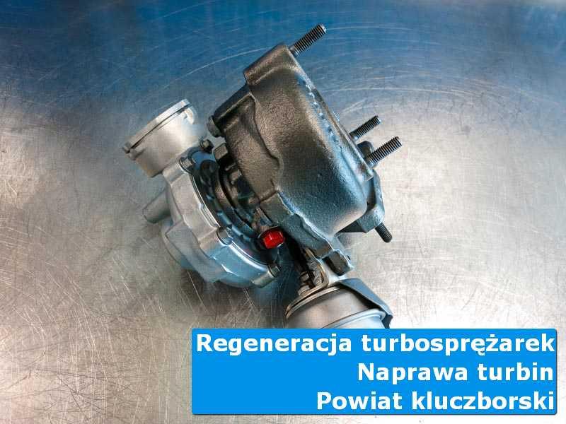 Turbosprężarka po naprawie w specjalistycznej pracowni, powiat kluczborski