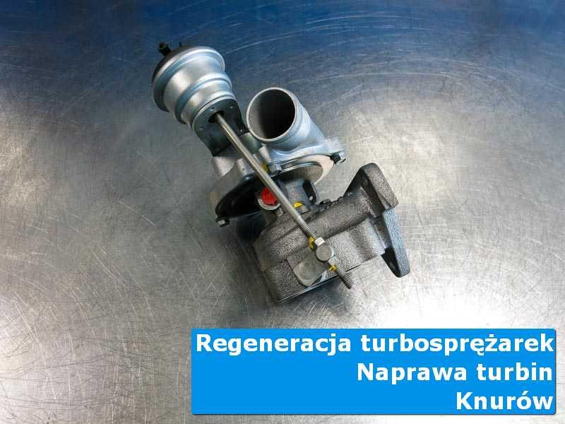 Turbosprężarka po przywróceniu sprawności w autoryzowanym serwisie w Knurowie