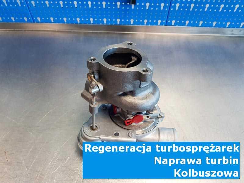 Turbosprężarka po serwisie w pracowni w Kolbuszowej