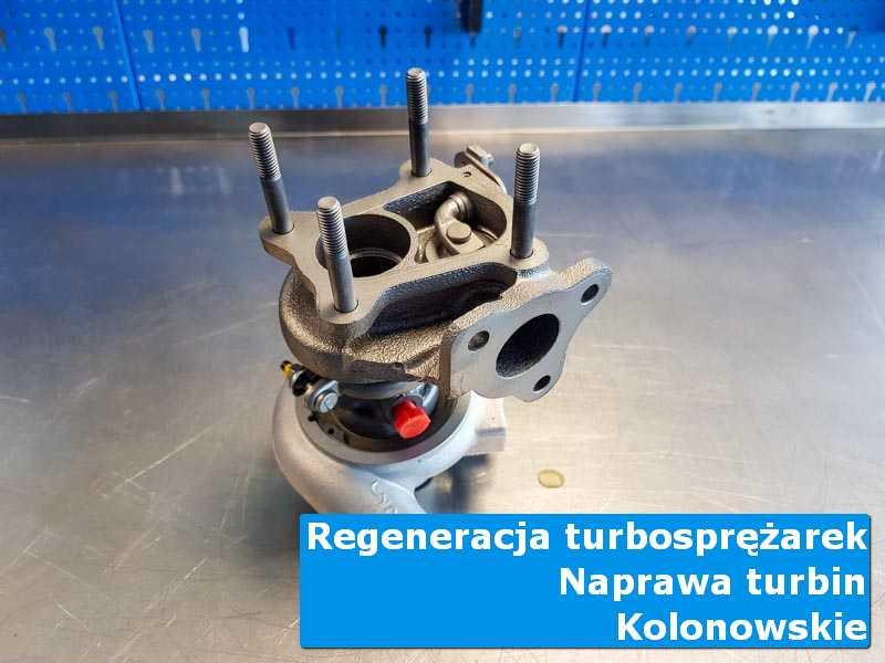Turbosprężarka po czyszczeniu u fachowców w Kolonowskiem