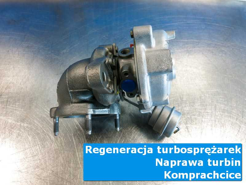 Turbosprężarka po wyważaniu w profesjonalnym serwisie z Komprachcic