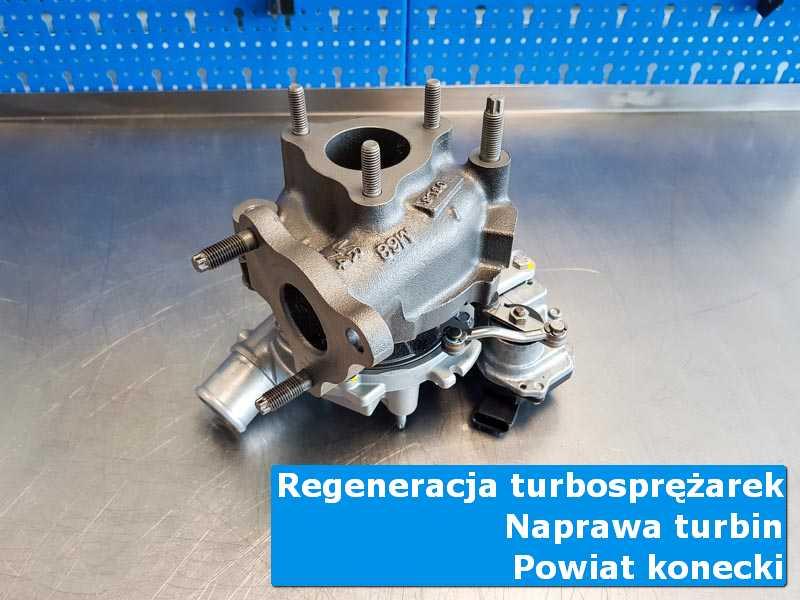 Turbosprężarka po wizycie w ASO w profesjonalnym serwisie, powiat konecki