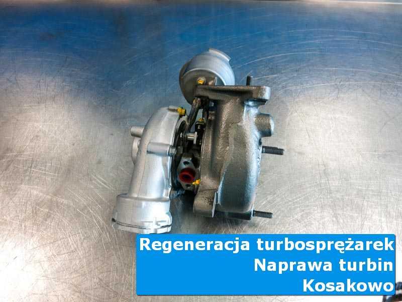 Turbosprężarka po czyszczeniu w pracowni z Kosakowa