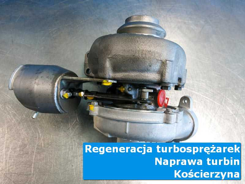 Turbosprężarka po serwisie w profesjonalnym serwisie z Kościerzyny