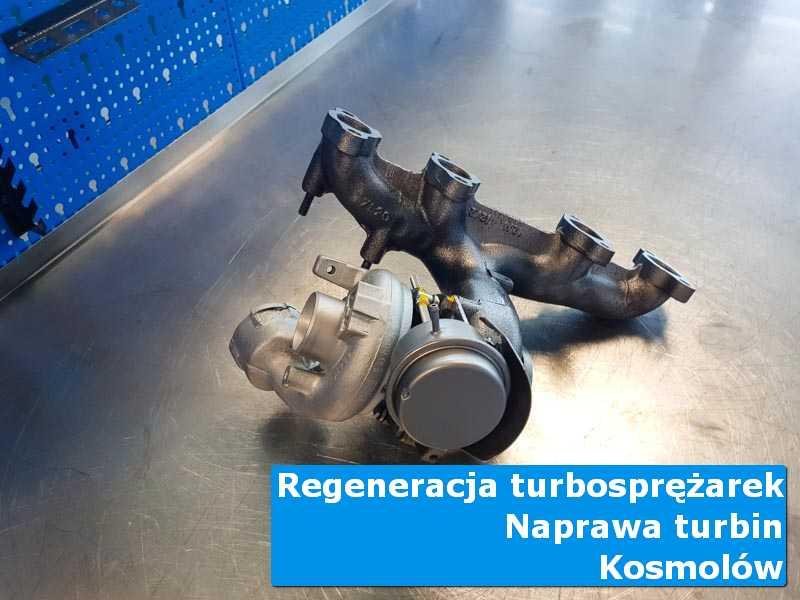 Turbosprężarka po regeneracji w nowoczesnej pracowni z Kosmolowa