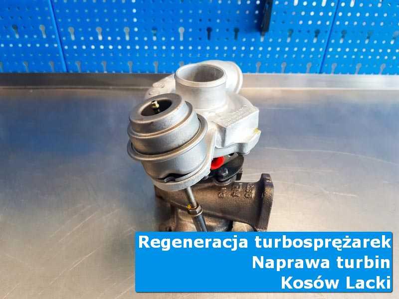 Turbosprężarka po serwisie w profesjonalnym serwisie w Kosowie Lackim