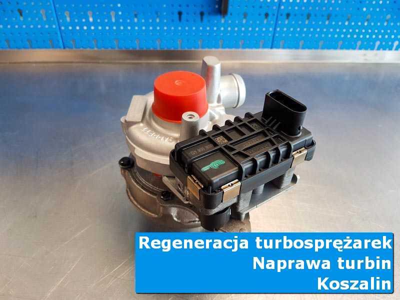 Turbina po czyszczeniu w laboratorium z Koszalina