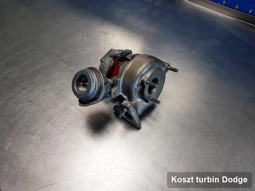 Turbosprężarka do samochodu osobowego marki Dodge naprawiona w przedsiębiorstwie gdzie wykonuje się usługę Koszt turbin