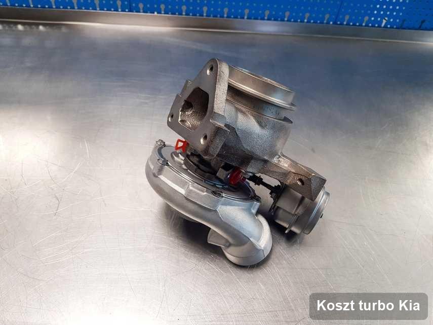 Turbosprężarka do auta firmy Kia wyremontowana w pracowni gdzie zleca się usługę Koszt turbo