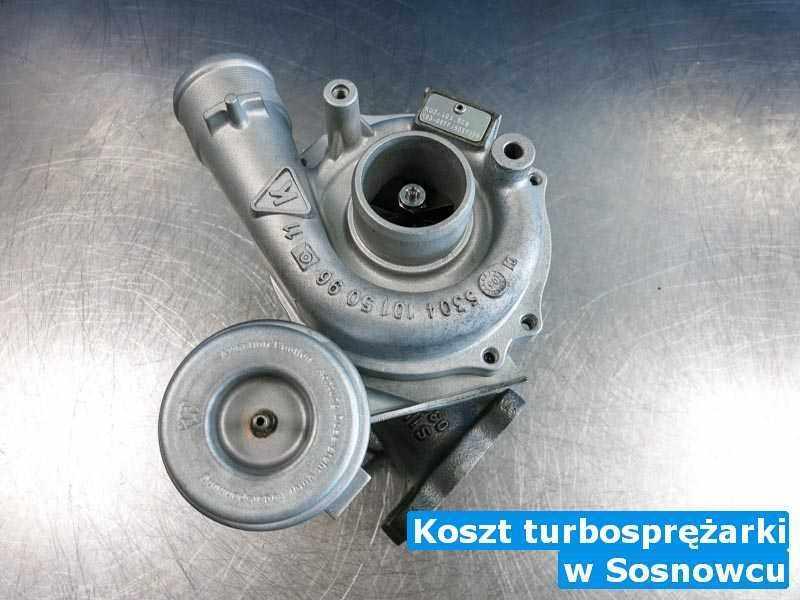 Turbina po wizycie w pracowni pod Sosnowcem - Koszt turbosprężarki, Sosnowcu