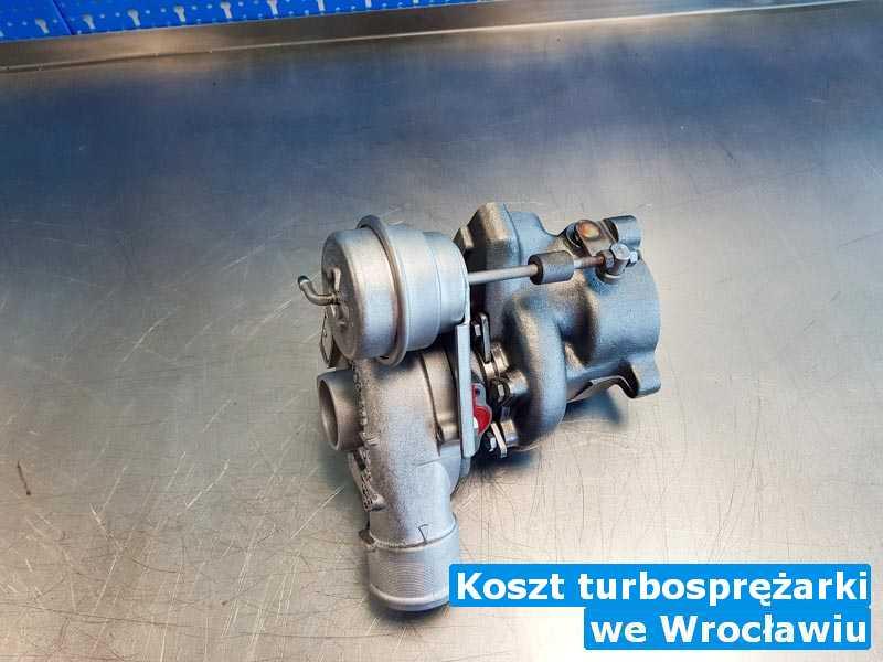 Turbosprężarka dostarczona do pracowni z Wrocławia - Koszt turbosprężarki, Wrocławiu