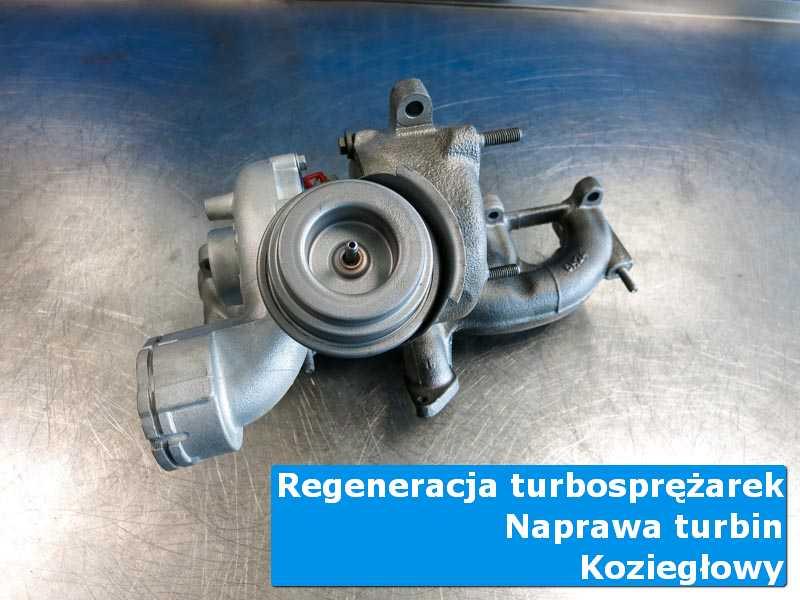 Turbosprężarka po przywróceniu sprawności w profesjonalnym serwisie w Koziegłowach