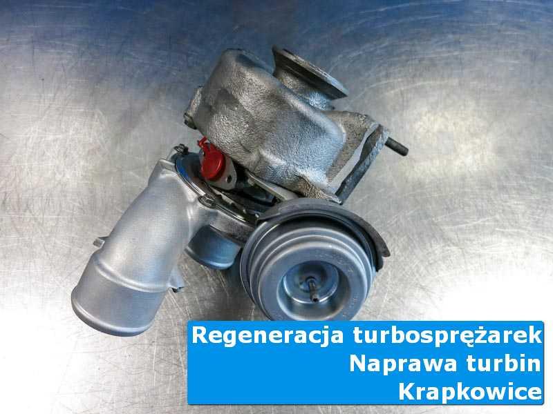 Turbo po serwisie w laboratorium w Krapkowicach