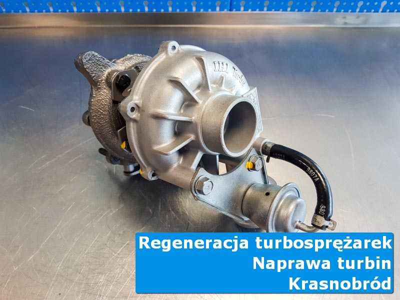 Turbosprężarka po wizycie w ASO w warsztacie z Krasnobrodu