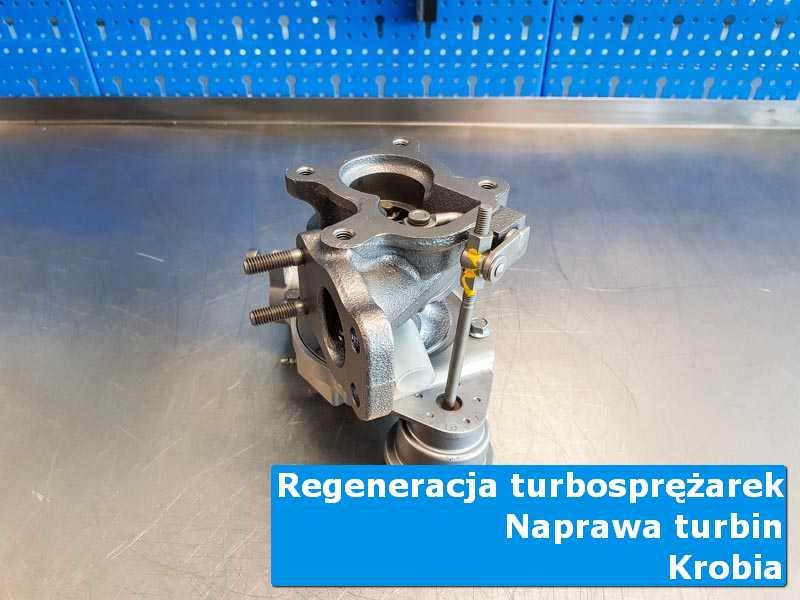Turbosprężarka po przywróceniu sprawności w nowoczesnej pracowni w Krobią