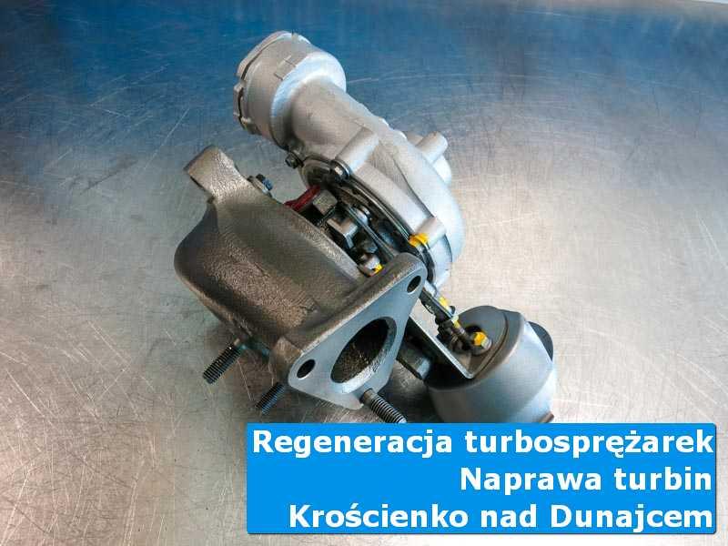 Turbosprężarka po regeneracji w warsztacie z Krościenka nad Dunajcem