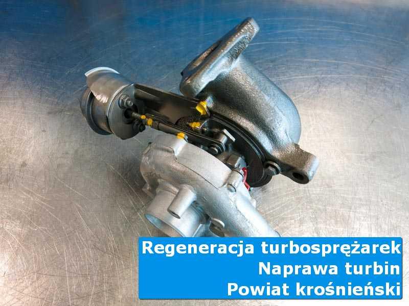 Turbosprężarka po wizycie w ASO u specjalistów, powiat krośnieński (lubuskie)