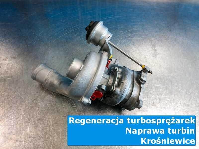 Turbosprężarka po wizycie w ASO w autoryzowanej pracowni w Krośniewicach