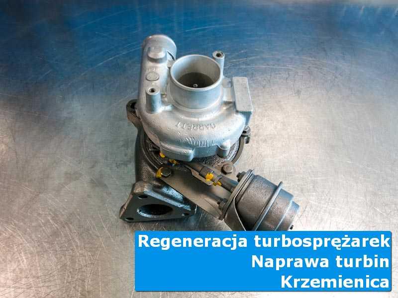 Turbosprężarka po czyszczeniu w nowoczesnej pracowni z Krzemienicy