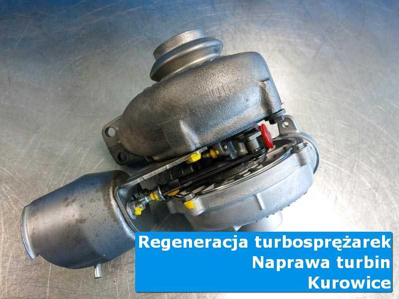Turbosprężarka po wizycie w ASO w warsztacie w Kurowicach