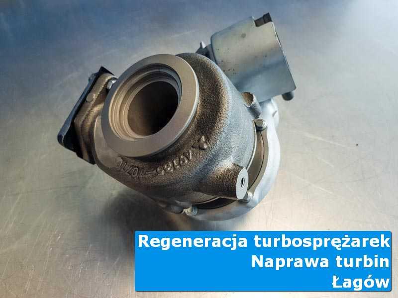 Układ turbodoładowania po wymianie na stole pracowniczym z Łagowa