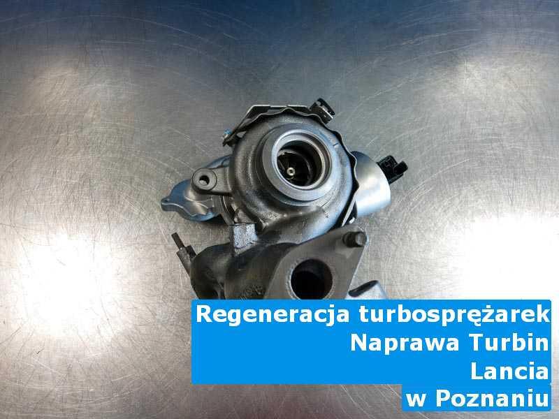 Turbina z auta Lancia wysłana do diagnostyki w Poznaniu