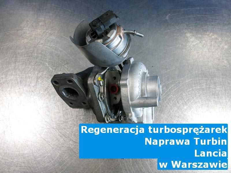 Turbosprężarka marki Lancia wyremontowana pod Warszawą