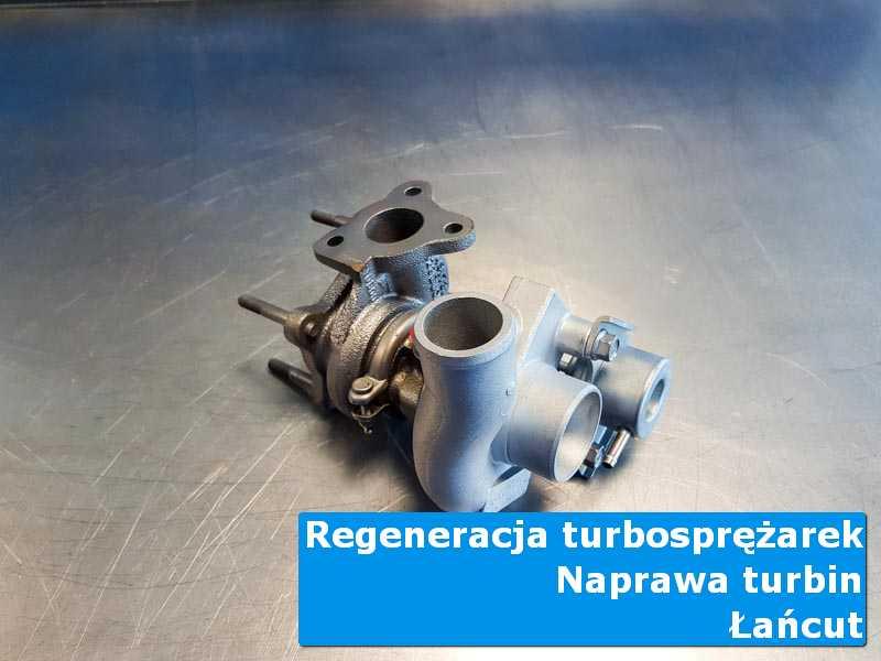 Układ turbodoładowania po czyszczeniu u specjalistów z Łańcuta