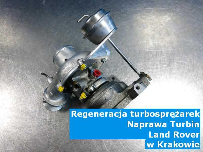 Turbosprężarki z samochodu Land Rover dostarczone do zakładu regeneracji pod Krakowem