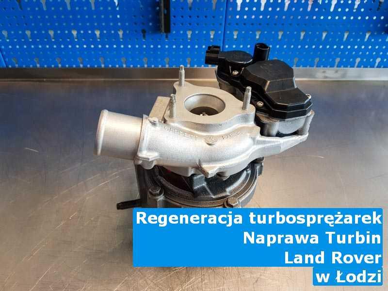 Turbina marki Land Rover dostarczona do pracowni w Łodzi