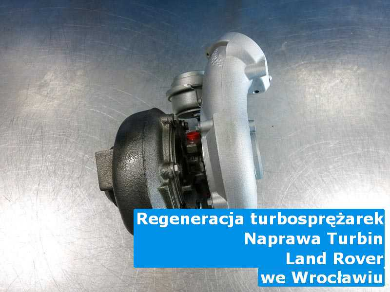 Turbosprężarka z pojazdu marki Land Rover wysłana do sprawdzenia pod Wrocławiem