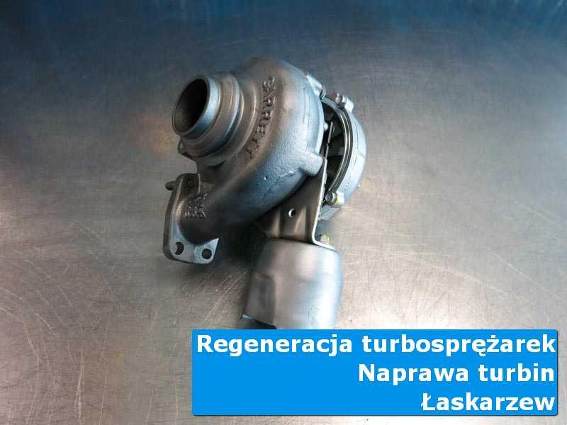 Turbosprężarka przed demontażem w profesjonalnym serwisie z Łaskarzewa