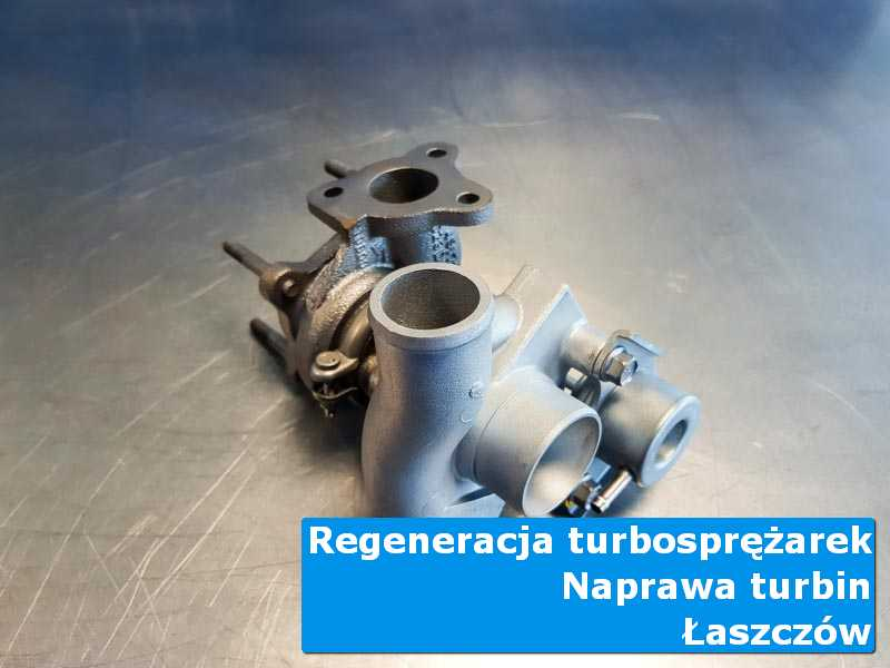 Układ turbodoładowania przed oddaniem do klienta w autoryzowanej pracowni z Łaszczowa