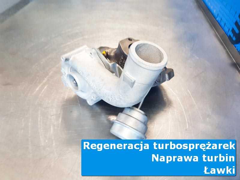 Turbosprężarka przed wymianą w autoryzowanym serwisie w Ławkach