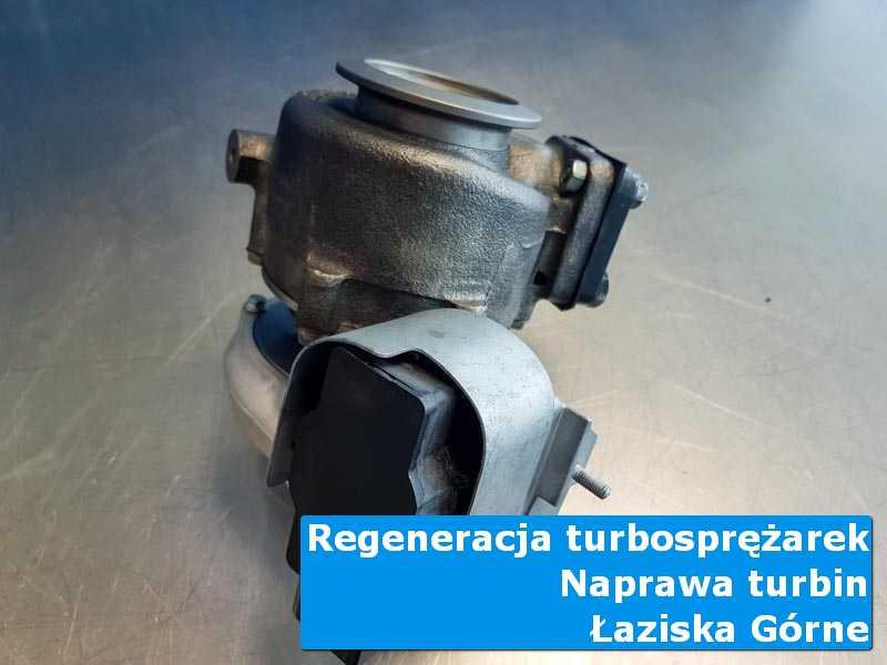 Turbosprężarka przed wymianą w laboratorium z Łazisk Górnych