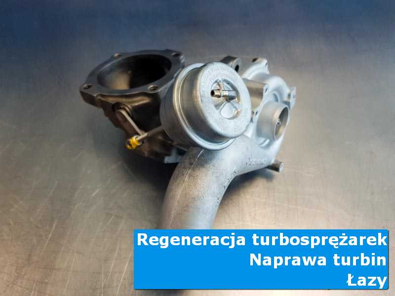 Turbosprężarka przed oddaniem do klienta w profesjonalnym serwisie w Łazach