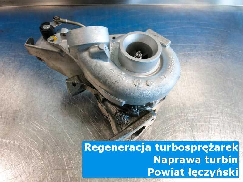 Turbosprężarka po naprawie w pracowni, powiat łęczyński