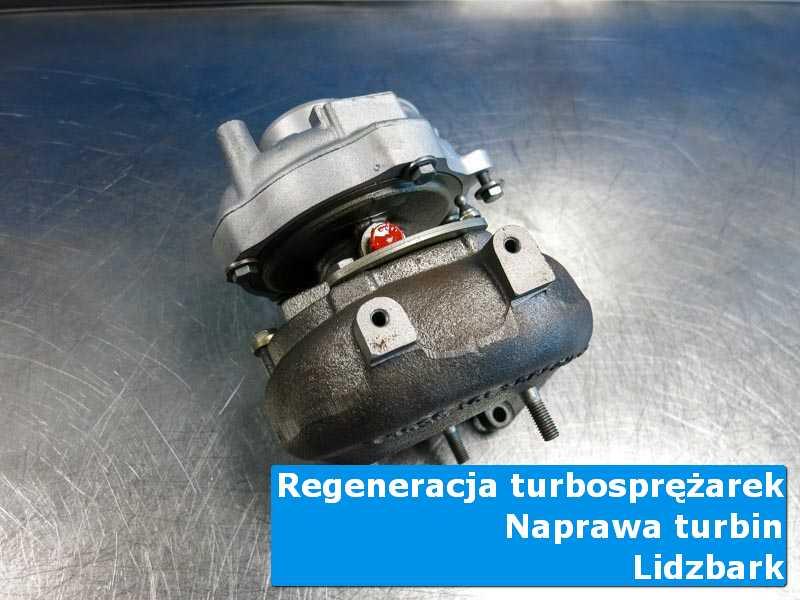 Turbosprężarka po naprawie w laboratorium w Lidzbarku