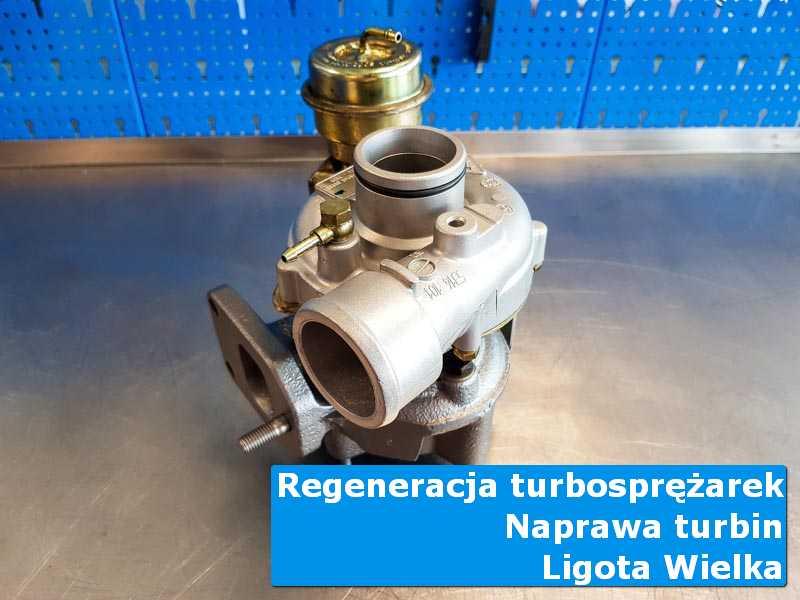 Turbo po naprawie w laboratorium z Ligoty Wielkiej