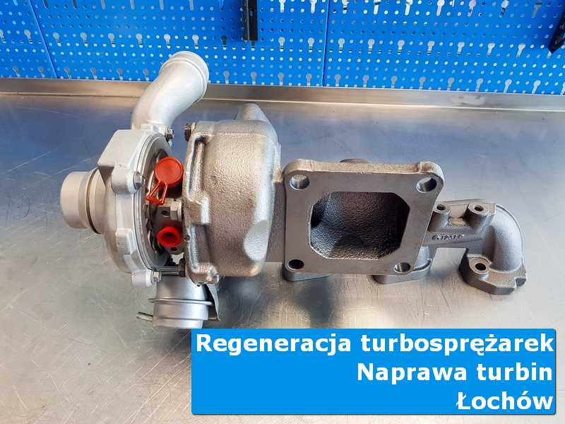 Układ turbodoładowania po wizycie w ASO w autoryzowanym serwisie w Łochowie