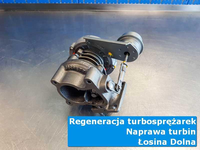 Układ turbodoładowania po czyszczeniu w laboratorium w Łososinie Dolnej