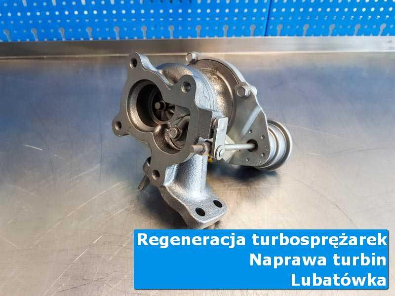 Turbosprężarka po regeneracji u specjalistów w Lubatówce