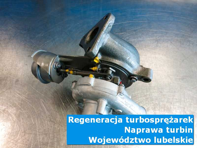 Turbosprężarka po naprawie u specjalistów w