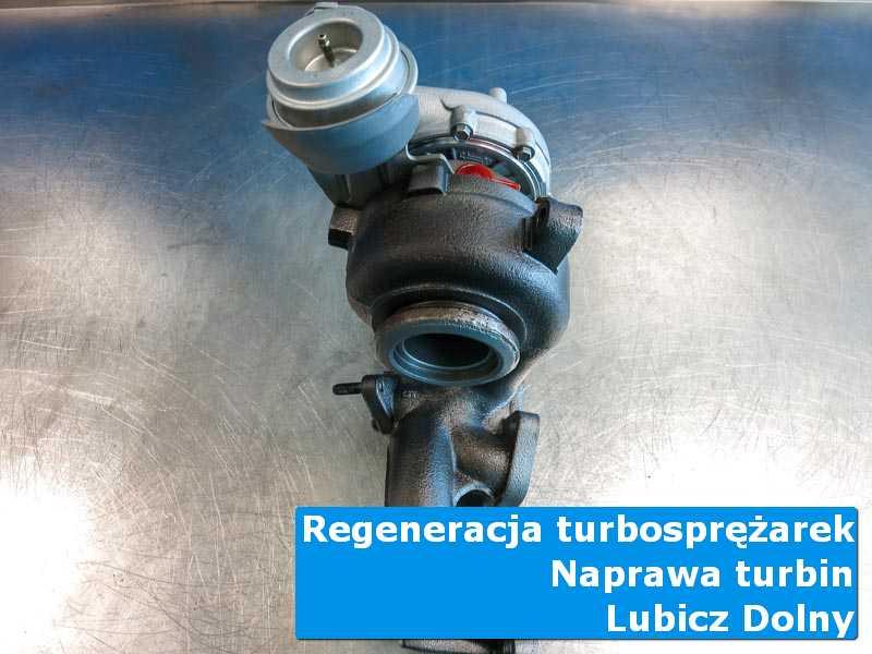 Turbosprężarka po czyszczeniu w autoryzowanym serwisie z Lubicza Dolnego
