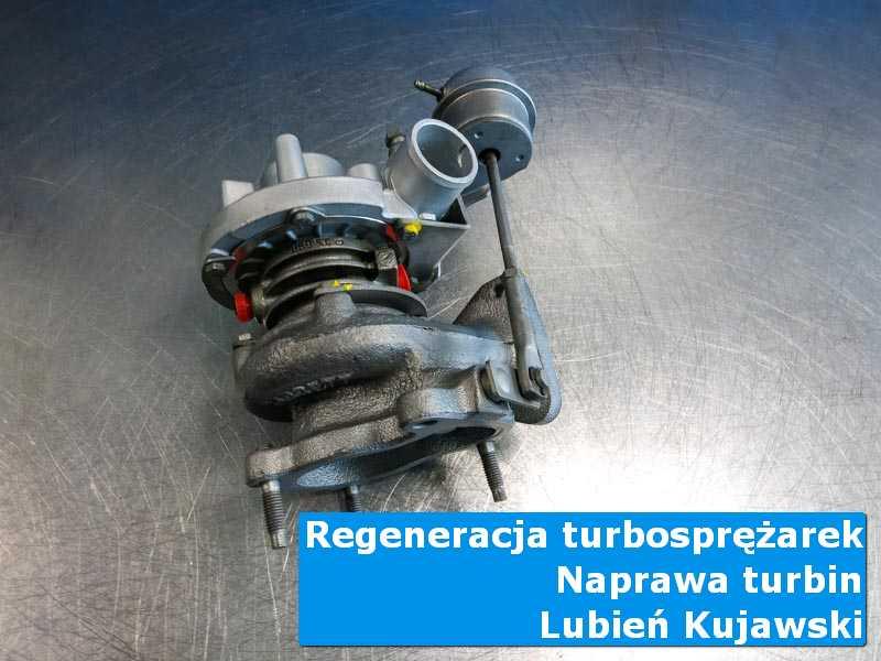 Turbo po czyszczeniu w laboratorium z Lubienia Kujawskiego