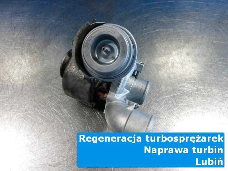 Turbina po wymianie w specjalistycznej pracowni w Lubinie